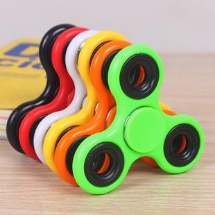指尖陀螺 三叶陀螺手指玩具减压创意玩具 彩色指间陀螺批发
