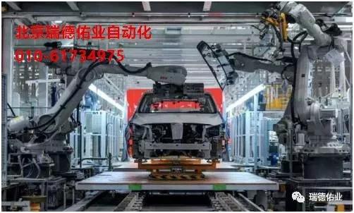 北京深隆机器人总装玻璃涂胶方案1
