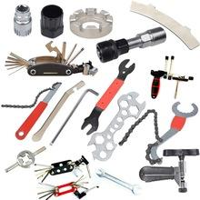拆中轴牙盘飞轮自行车山地车工具截链器内六角扳手辐条扳手支架