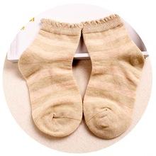 童泰新款春夏四季婴幼儿薄款袜子男童女童0-1-3-5岁网眼松口棉袜