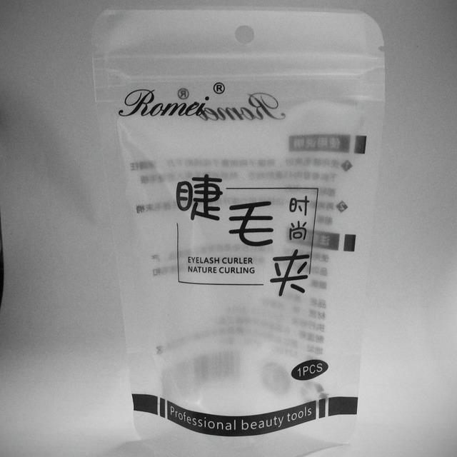 罗浮美容工具厂自制睫毛夹包装袋塑料袋自封袋