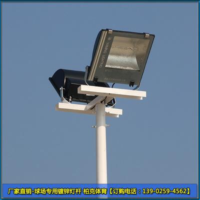 肇庆村委会篮球场灯柱批发 6米一拖二灯杆1600元/套 厂家直销