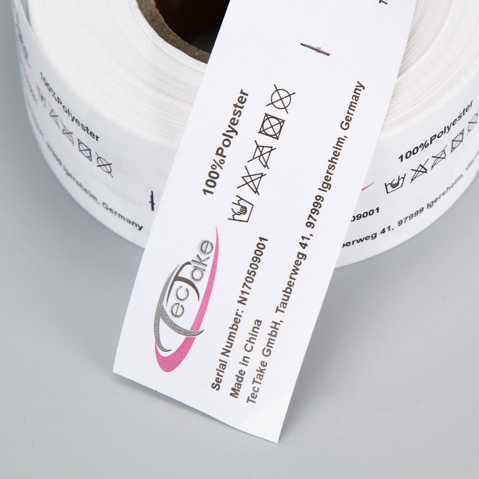 厂家专业生产服装商标 水洗标洗水唛印唛定做质量保障量大价优