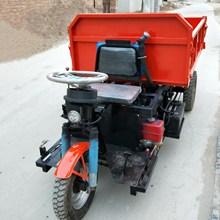 工地柴油/電動拉灰車建築工地三輪車加厚車廂養殖場用車農用三輪