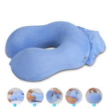 廠家直銷u型枕頭護頸枕飛機u型枕護脖子午睡枕批發優惠一件代發