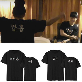 BTS bulletproof youth group with short-sleeved T-shirt spring and summer silver printed loose btsT shirt men and women should be aided