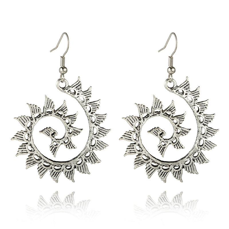 Fashion Alloy plating earring(Main color)NHGY1609-Main color
