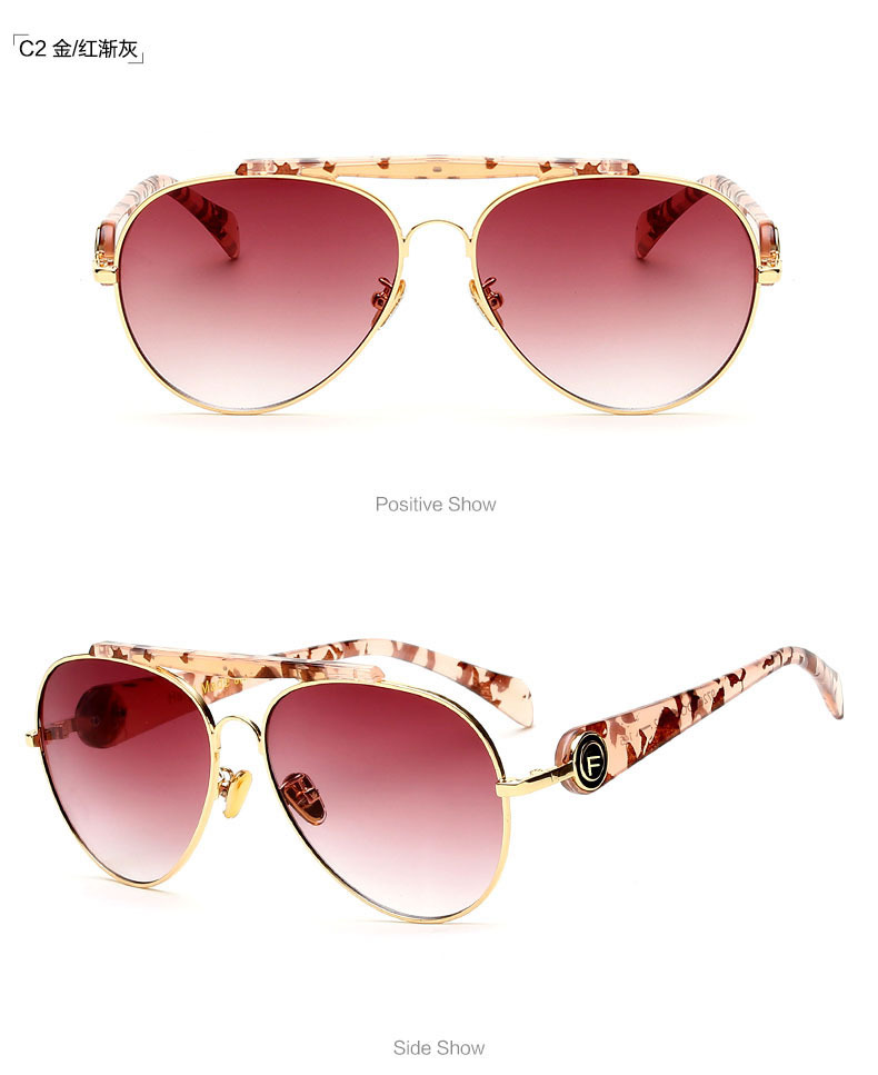 Explosion models hot retro fashion new sunglasses NHFY127671