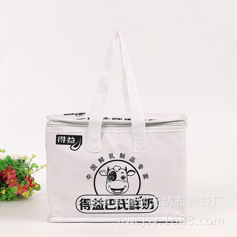 专业定制 便携食品保鲜冰包冰袋 无纺布铝箔保温袋 批发