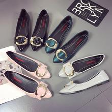 Giày bệt nữ thời trang, kiểu dáng mũi nhọn, phong cách hiện đại