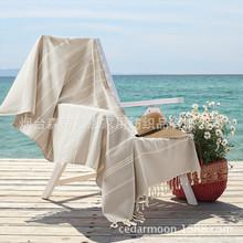 外贸出口原单纯棉沙滩巾情侣披肩围巾桌旗桌布浴巾条纹加厚