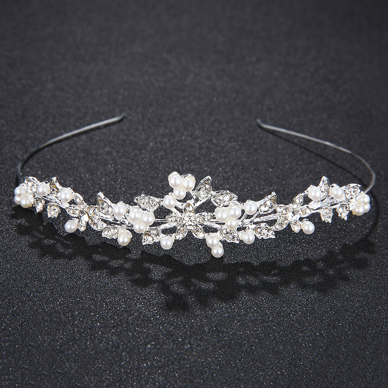 Imitated crystalCZ Fashion Geometric Hair accessories  Alloy NHHS0164Alloy