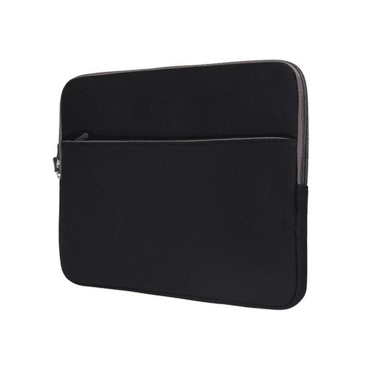 笔记本电脑qq免费红包领取包 双层拉链潜水料保护袋 简约中拉SBR防振