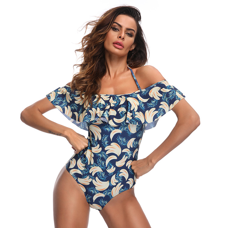 Polyester Fashion  Swimwear  (Banana-S) NHXJ0110-Banana-S