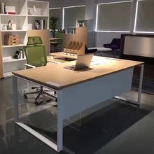 厂家直销现代板式大班台经理桌办公桌老板桌老板桌板式办公家具