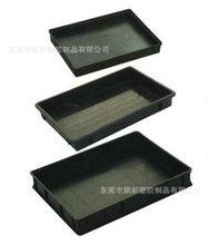 永久性防静电长方形防方盘 防静电塑胶托盘 周转箱 PCB防静电托盘