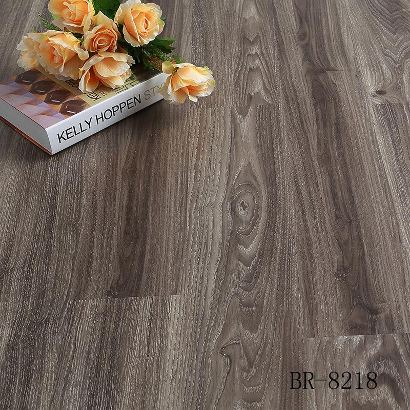 石塑地板 pvc塑胶地板 木纹pvc地板片材3.0系列 启航厂家直销