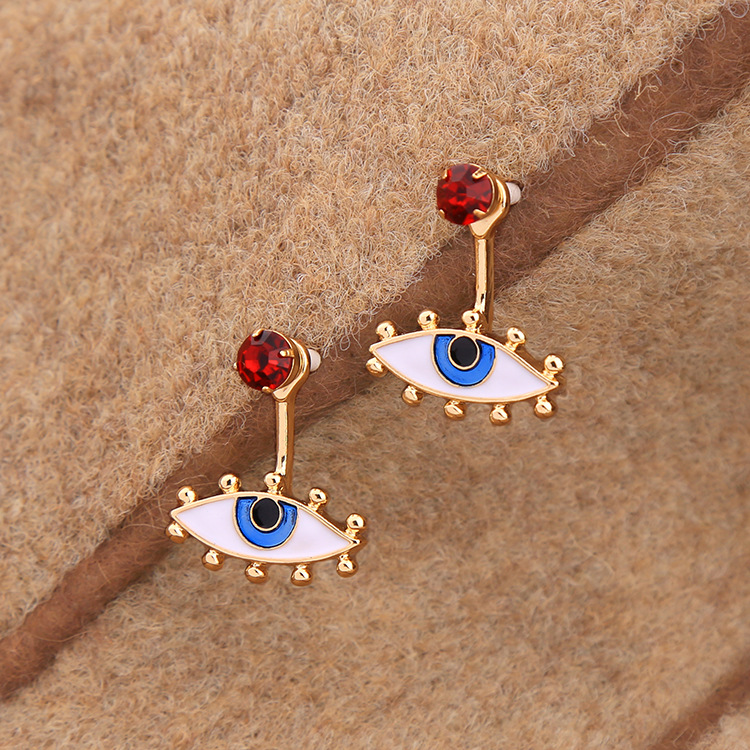 Occident and the United States alloy  earring NHQD2841