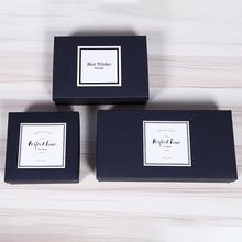 新款折叠纸盒 创意uv印刷礼品盒烘培点心包装盒厂家定制LOGO批发