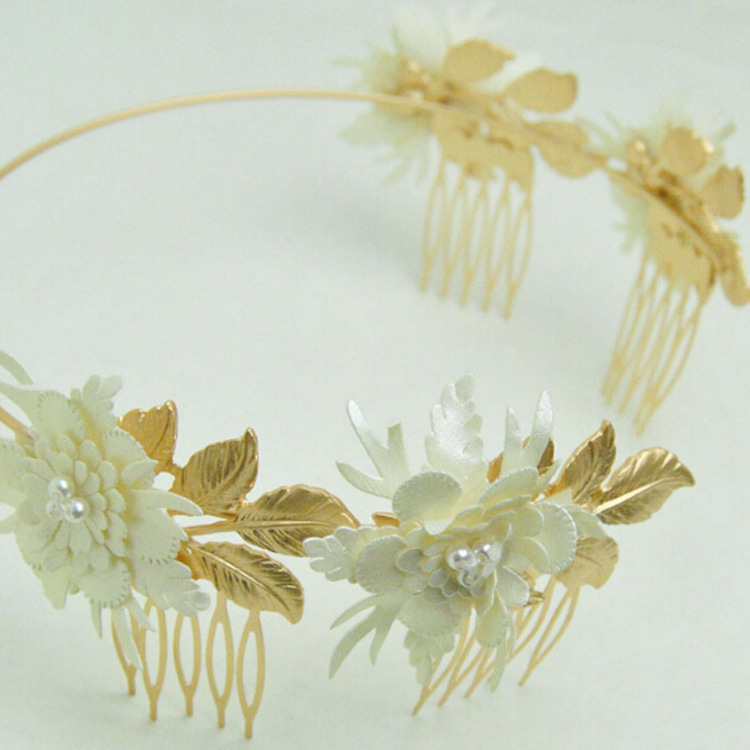 Alloy Vintage Flowers Hair accessories  (Alloy) NHNT0531-Alloy