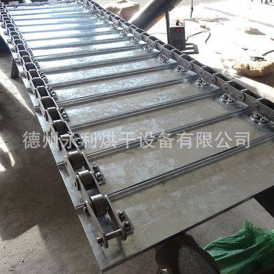 C型槽钢链板 镀锌U槽式重载输送链板 折弯链板运行平稳承重大