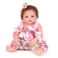 外贸热卖 可爱仿真婴儿洋娃娃 柔软硅胶陪睡娃娃 宝宝儿童玩具