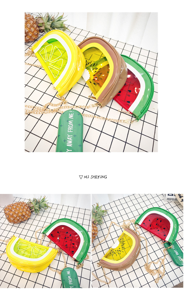 PU FashionShoulder bag(watermelon) NHHX0041-watermelon