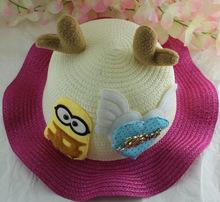 厂家定做大鹿兔子熊猫通用动物帽特价大孩宝宝处理喜洋洋帽子