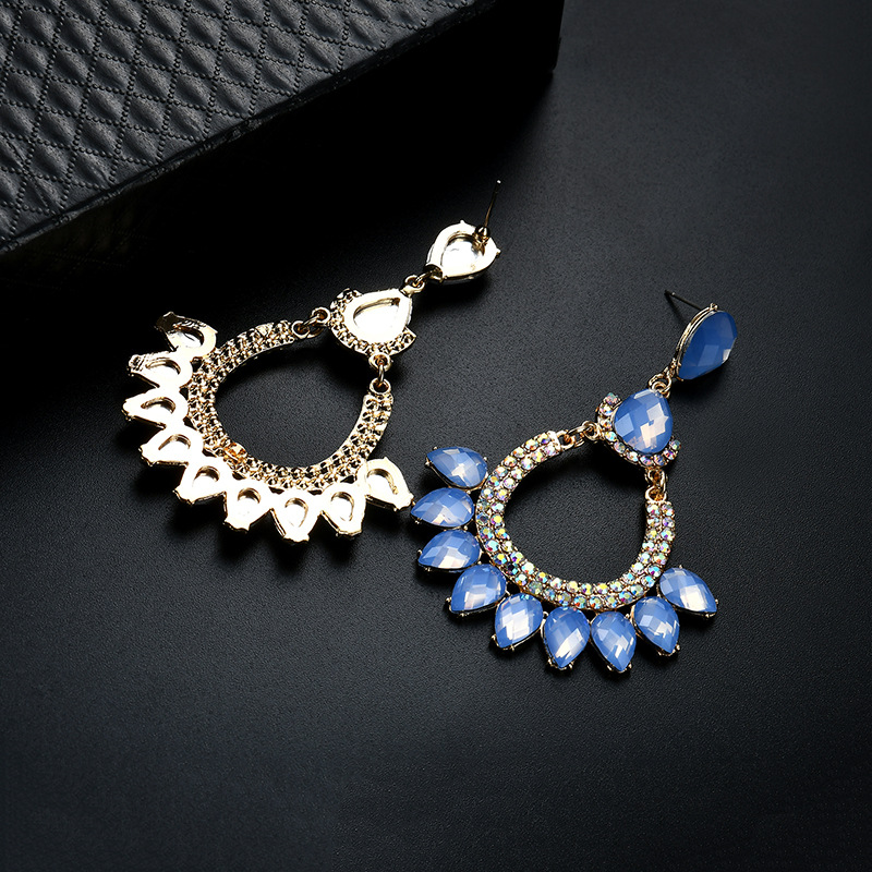 Occident and the United States alloy plating earring (61179395)NHLP0822-61179395
