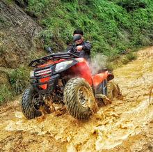 新款500cc水冷越野四轮驱动摩托车全地形山地雪地摩托