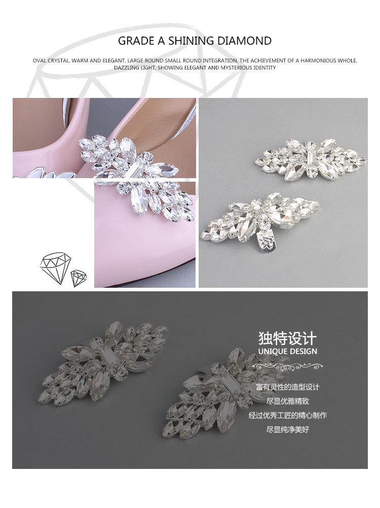 Imitated crystalCZ Fashion  Body jewelry  white NHHS0095white