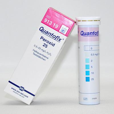MN双氧水测试条91319 过氧化氢检测试纸 食品中双氧水残留测试纸