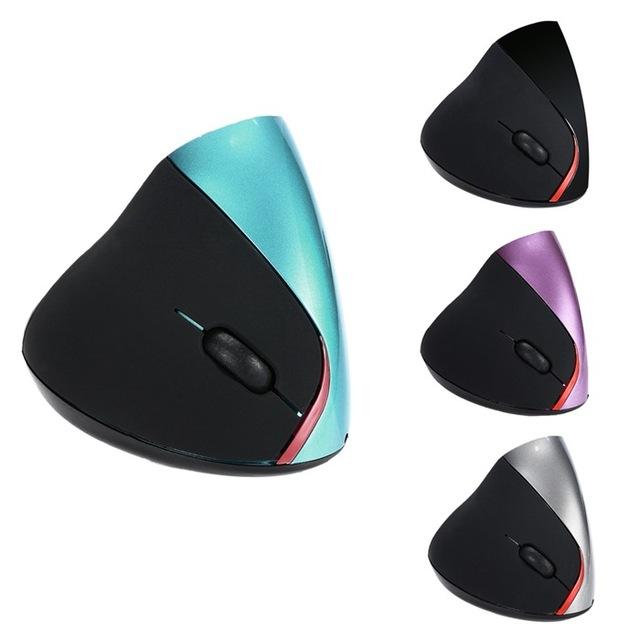 无线5D垂直鼠标2.4GHZ充电无线鼠标