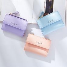 威臣女士钱包短款两折钱夹女2018新款日韩版小钱包多卡位厂家直销