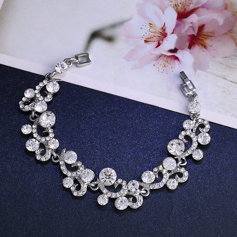 Womens Electroplated Alloy Jewelry Set Jewelry Sets NHAS120899
