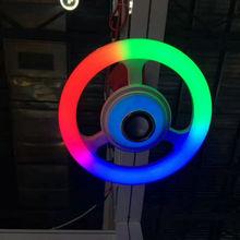 50W梅花节能灯 创意彩色led小夜灯 12W小型亚克力节能灯