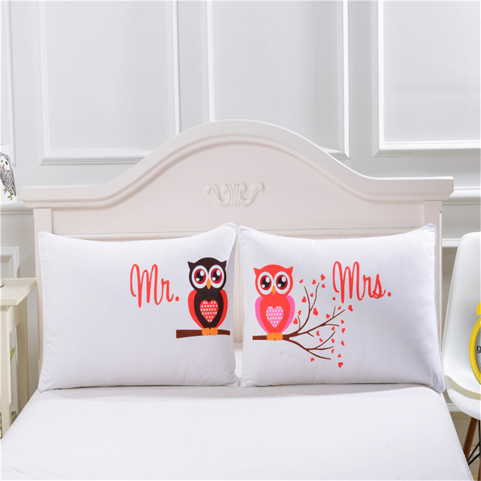 Owls Pillowcase (2)