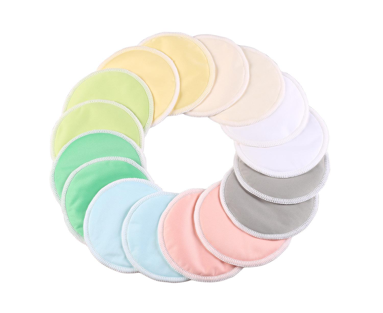 亚马逊爆款孕妇三层竹纤维可洗防溢乳贴产妇哺乳溢奶垫超薄隔奶垫