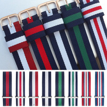 表带尼龙表带情侣编织腕带 手表配件厂家直销帆布带一件代发