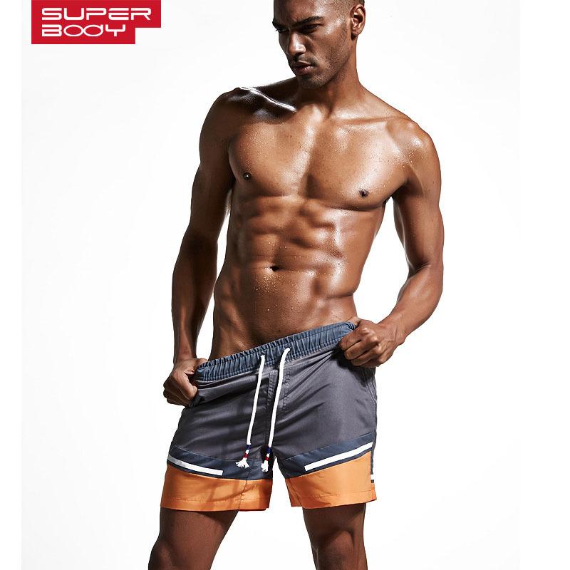 批发SUPERBODY男士运动休闲裤沙滩裤 泳裤淘宝速卖通一件代发