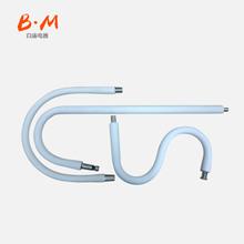 夹子台灯支撑杆 灯具配件万向金属定型软管 鹅颈管