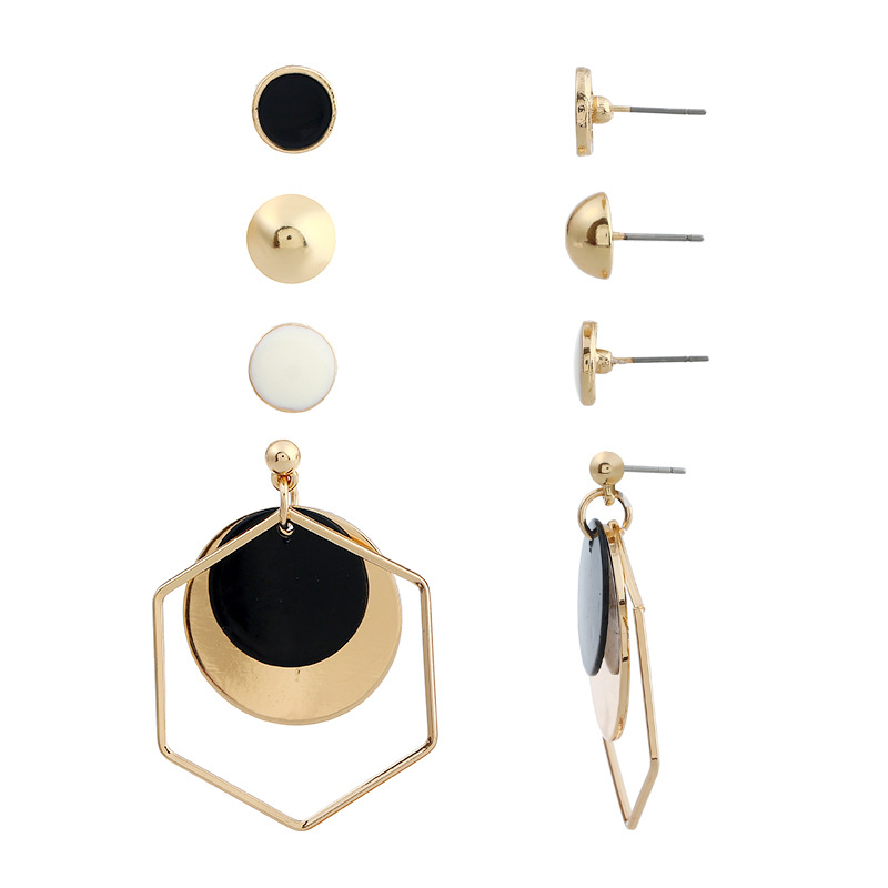 other alloy Paint Jewelry Sets (KC Gold Coffee)NHKQ1171-KC Gold Coffee