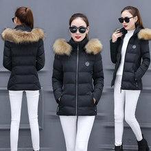 棉服外套韓版冬季女裝加厚短款棉襖寬松bf學生大毛領棉衣冬裝7257