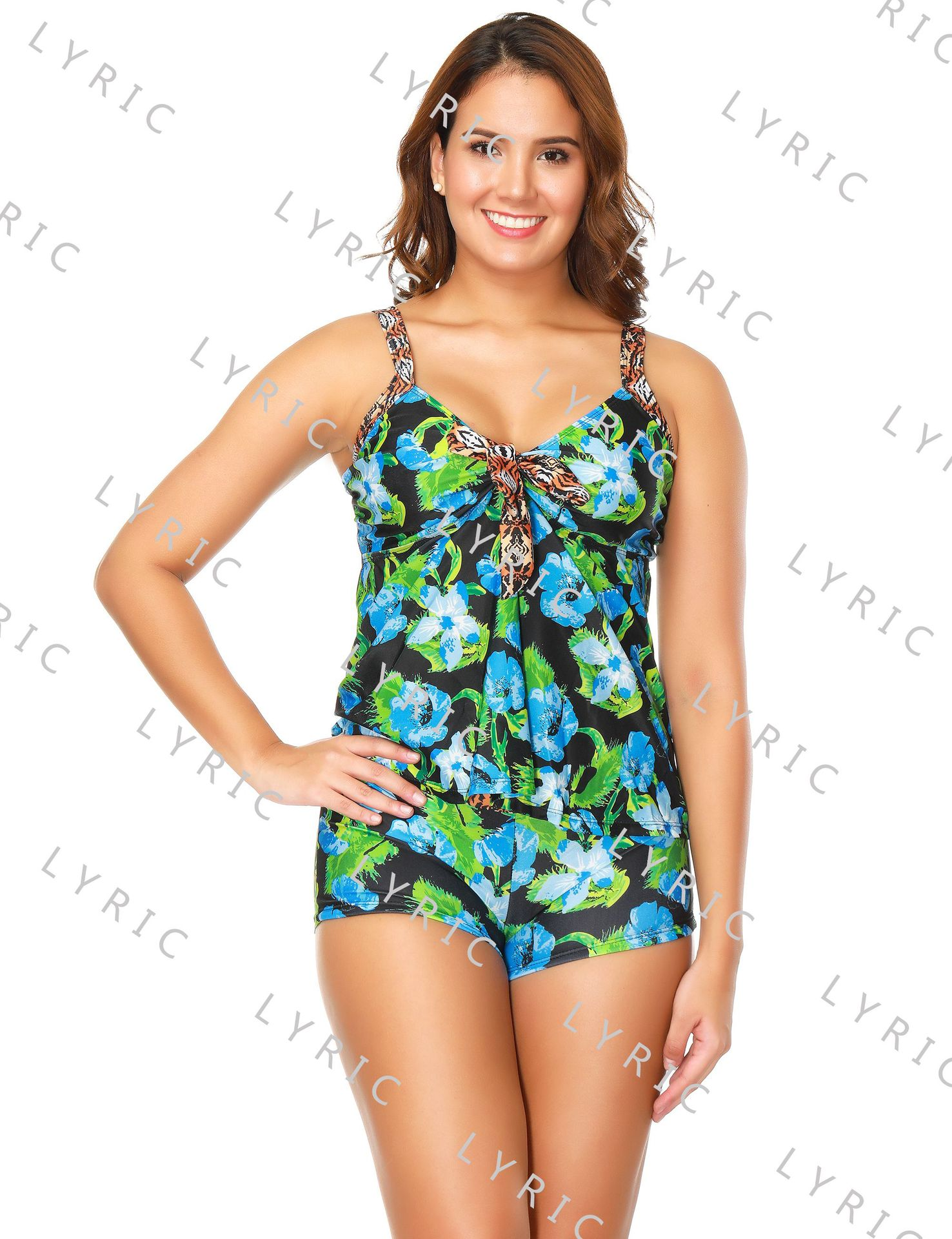 Cotton FashionLarge size swimsuit(SG16271-S) NHYS0028-SG16271-S