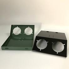 油压表固定板/机组表板/压力开关固定板双孔/3孔/4孔 制冷配件