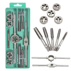Metric tap and die 12 piece set (small frame) tap and die set Complete set of tap and die die