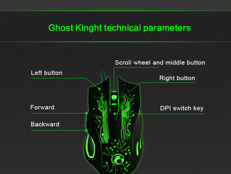 Tri-Color Backlight Computer Gaming Keyboard Teclado USB Wired Full N-Key Game Keyboard for PC Desktop Laptop Russian Sticker