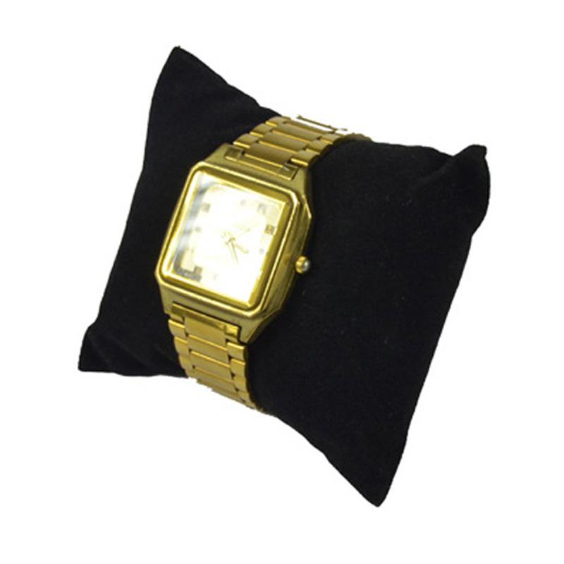 特价珠宝首饰枕头黑色蓝色咖啡绒饰品架手表展示架手链手镯陈列道