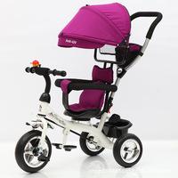 厂家批发新款儿童三轮脚踏车 小孩自行车 婴儿手推车宝宝三轮童车