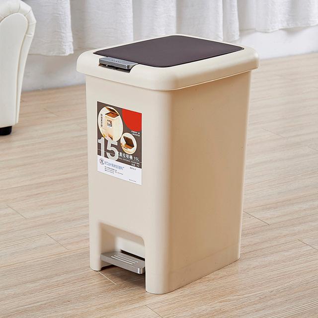 Tứ Xuyên là tay đôi bao phủ trên chân thùng rác thời trang sáng tạo bếp gia dụng thùng rác nhà vệ sinh rác Thùng rác